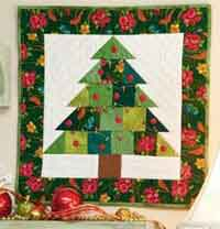 Tiny Tannenbaum Little Christmas Tree Quilt Pattern