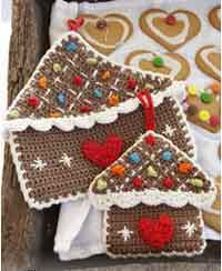 Gingerbread House Pot Holder