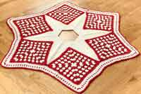 Crochet Christmas Tree Skirt Pattern