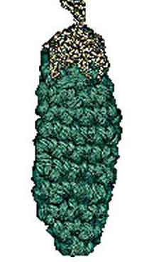 Crochet Christmas Pickle