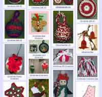 Over 100 Free Crochet Christmas Ornaments Patterns