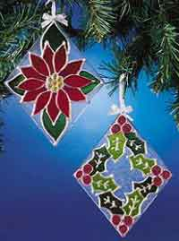 Gleaming Glass Christmas Ornaments