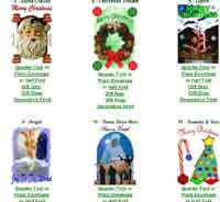 Printable Christmas Cards from PrintFree